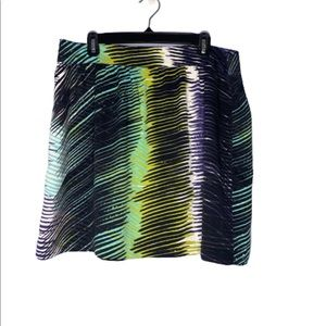 LOFT Skirt Abstract Pattern